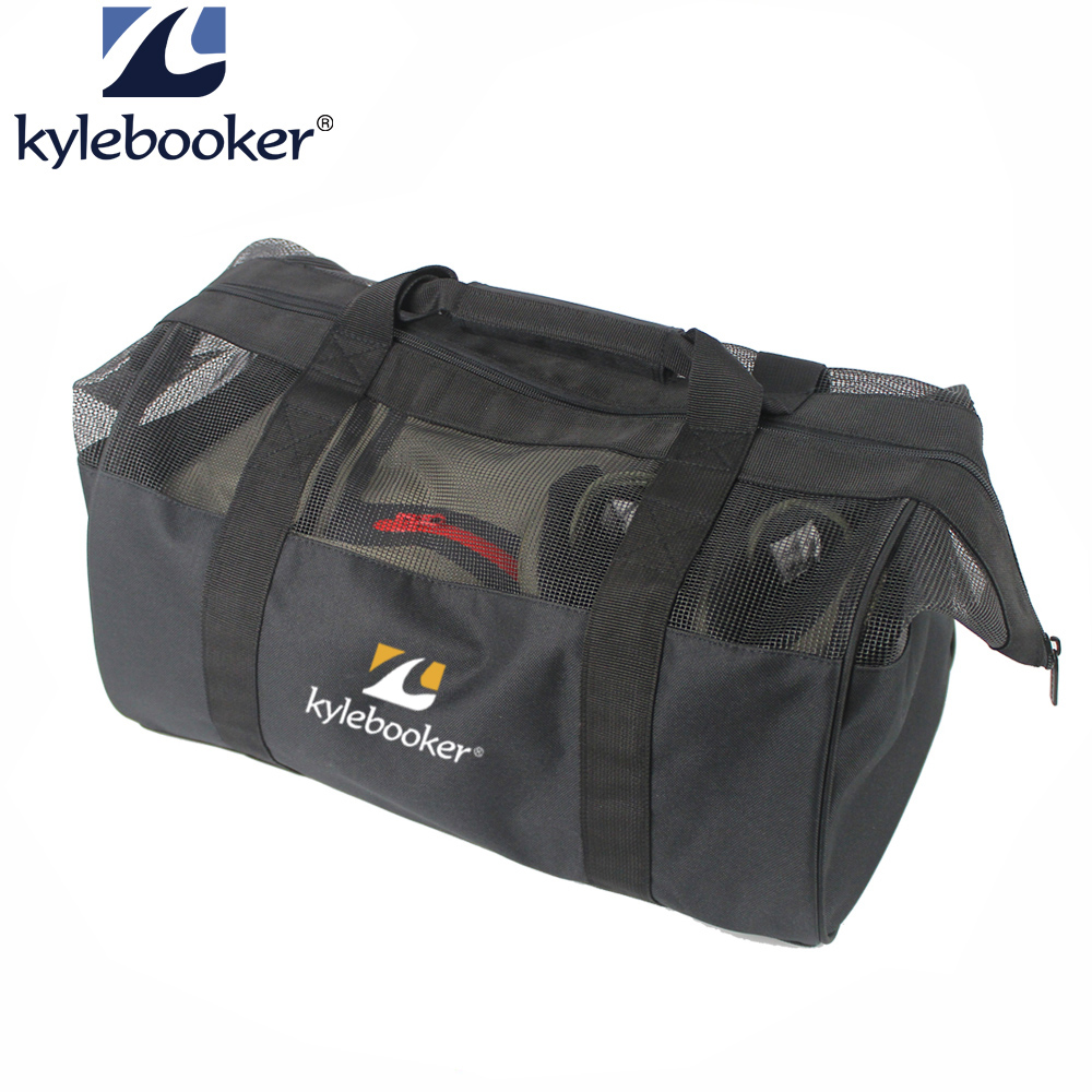 Us 22 19 26 Off Fly Fishing Wader Bag Sports Chest Waders And Wading Boots Shoes Storage Accessories Gear Hand In