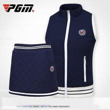 Спортивная одежда для гольфа pgm Осень зима Женская флисовая