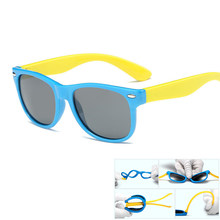 a27f708c31 Marco de goma nuevos niños TAC polarizado Gafas de sol niños Gafas de sol  Sol Gafas para Niñas Niños goggle bebé Gafas retro gaf.
