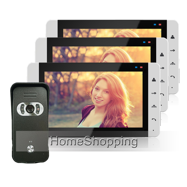 FREE SHIP Home Security Wired 7\  Color Video Door Phone Intercom System / Kit +  sc 1 st  AliExpress.com & Aliexpress.com : Buy FREE SHIP Home Security Wired 7\