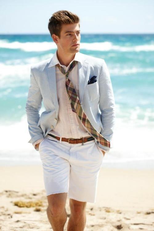 Latest Coat Pant Designs Light Grey Linen Men Suit Short Pant Slim ...