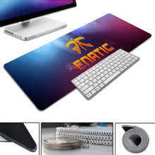 2017 New Simple Design Speed FNATIC Game MousePads Computer Gaming Mouse Pad Gamer Play Mats Version Mousepad