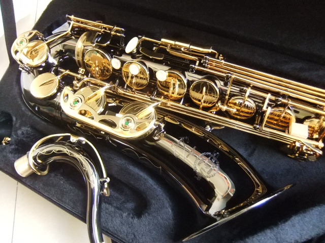 все цены на Wholesale Brand New France Selmer Tenor Saxophone Professional B Black With Case and Accessories 110405