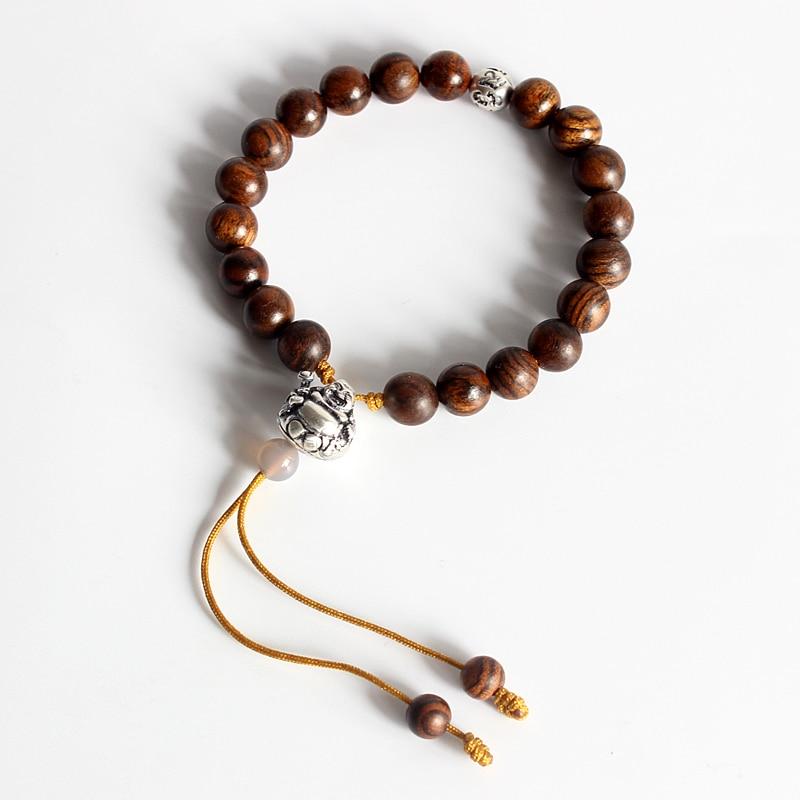 Mixte en Bois Gouvernail PERLES sucette clip WOOD BEAD bijoux accessoires 25 mm