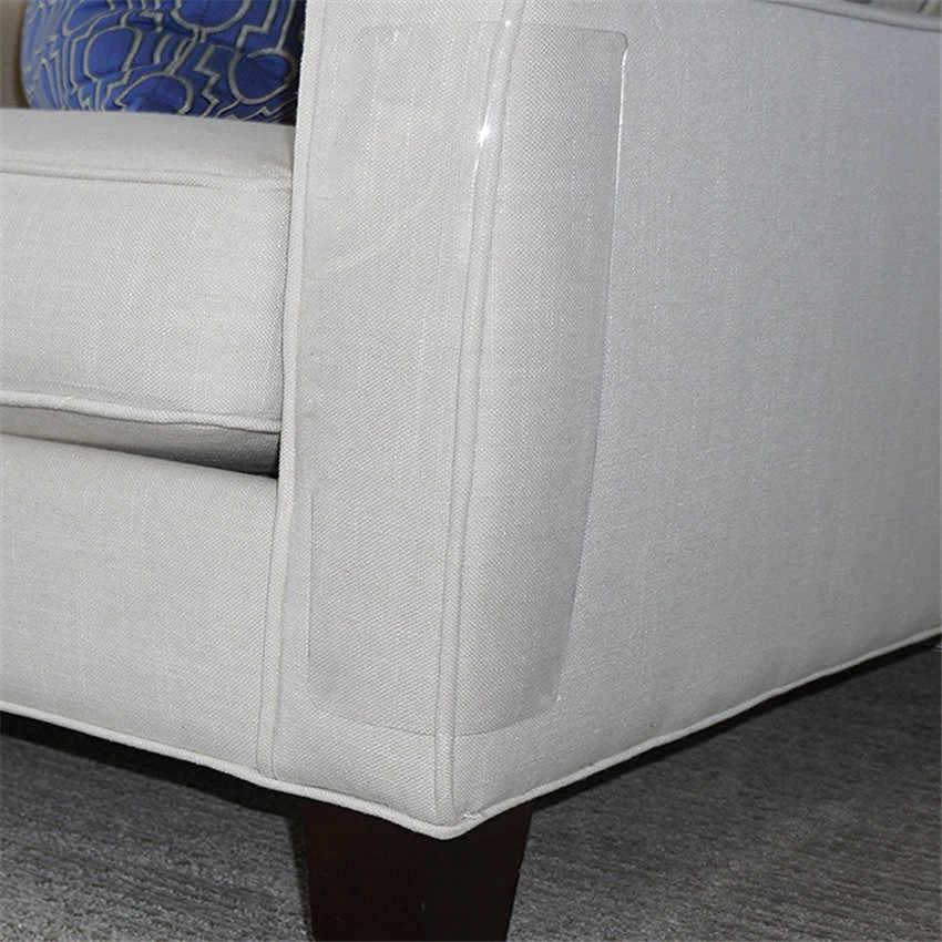 2 PCS Couch Guard Cat Claw Protector Pinless Self - adhesie ป้องกันแผ่น Cat Scratching เฟอร์นิเจอร์สำหรับหนังเบาะเก้าอี้