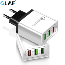 US $2.69 30% OFF|Olaf USB Charger quick charge 3.0 for iPhone X 8 7 iPad Fast Wall Charger for Samsung S9 Xiaomi mi 8 Huawei Mobile Phone Charger-in Mobile Phone Chargers from Cellphones & Telecommunications on Aliexpress.com | Alibaba Group