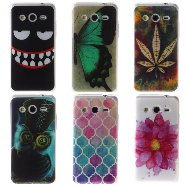 premium selection 48f1d 59219 US $1.96  Aliexpress.com : Buy Soft Cover for For Samsung Galaxy core 2  core2 ii G355H G355 Case TPU Back Cover Cell Phone Accessories Case for ...