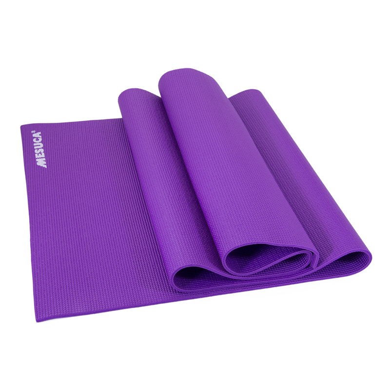 Mesuca Pvc Yoga Mat 6mm Thick Non Slip Pilates Fitness