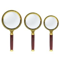 10X Magnifier Magnifying Glass 80/70/60mm Handheld Loupe Reading Jewelry High Definition Eye Loupe Glass Tool