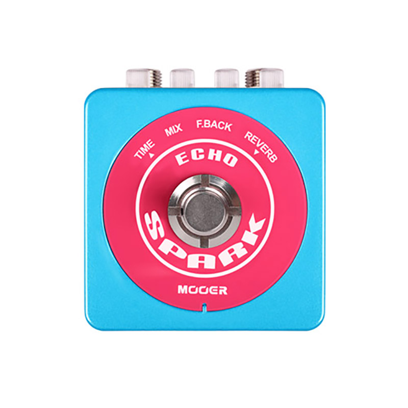 Mooer Spark Echo Up To 1000 Milliseconds Delay True Bypass Guitar Effect Pedal mooer ana echo analog delay pedal