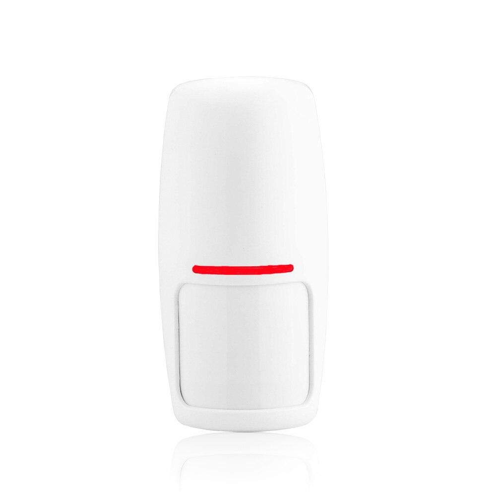 HuilingyiTech PIR Sem Fio Sensor de Movimento Detector de Alarme para Sistema de Alarme Home em Estável 433 Mhz