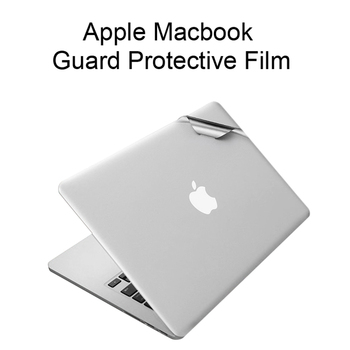 2016 NEW Skin Full Body Sticker For MacBook Air 11 13 Pro Retina 12 13 15 Touch Bar Mac Guard Case Cover Surface Protective Film