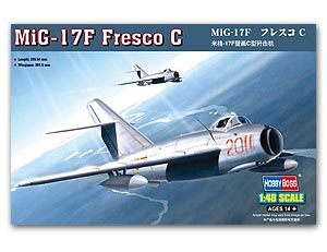 Hobby Boss 1 48 scale aircraft models 80334 MiG 17F murals C fighters