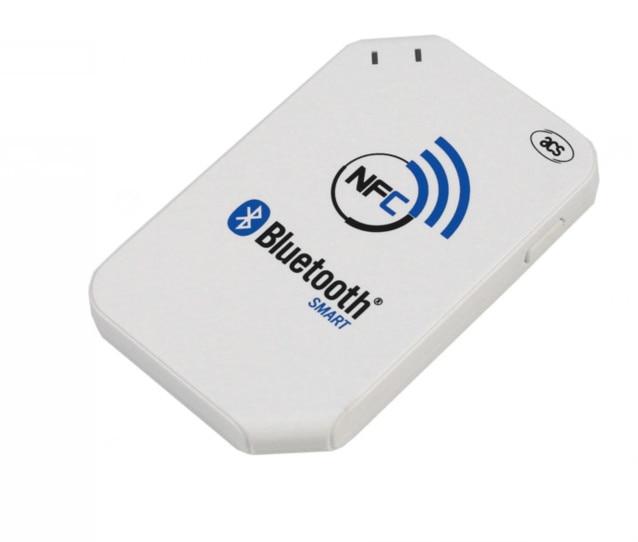 Interface USB de lecteur de carte RFID ACR1255 13.56 mhz pour lecteur sans fil Android Bluetooth NFC