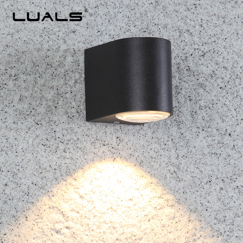 Upscale Outdoor Wall Lamp Aluminum Modern Wall Light Luxury Villa Art Wall Lamps Waterproof LED Lights Courtyard Aisle Lighting outdoor wall lights simple modern wall light waterproof led wall lamp luxury villa aluminum wall lamps hallway art deco lighting