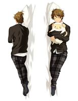 Japan Anime Hugging skin Pillow Case qf 150*50 ensemble stars 71056