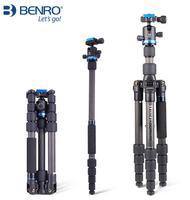 Benro штатив углеродного волокна один Обратный камера фотографический кронштейн IF19C портативная, для ковра ролик