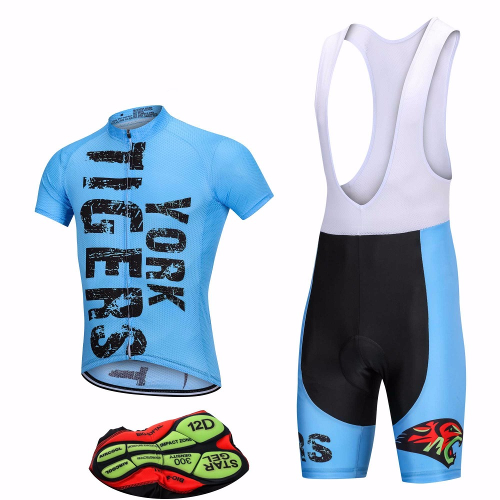 2017 Men s Blue Bike Cycling Jerseys Sets Lycra Quick-Dry Short Sleeve  Clothes Bicycle Ropa Ciclismo  Military style sportswear 69ea768eb