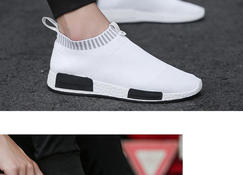HTB13IEhXLBj uVjSZFpq6A0SXXaQ Cork Men Shoes Sneakers Men Breathable Air Mesh Sneakers Slip on Summer Non-leather Casual Lightweight Sock Shoes Men Sneakers