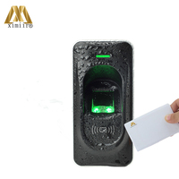 Fingerprint Reader For Access Control System Inbio460 Access Control Panel ZK FR1200 Fingerprint And MF IC Card Reader