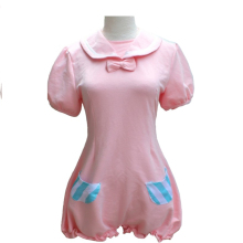 VOCALOID Cosplay Hatsune Miku/Kagamine Rin Costume Womens Dress Conjoined Clothes Pajamas Sleepwear Homewear Jumpsuits