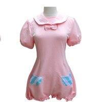 Brdwn VOCALOID Women's Hatsune Miku Luka Cosplay Costume Apron Dress homewear Pajamas Sleepwear jumpsuit