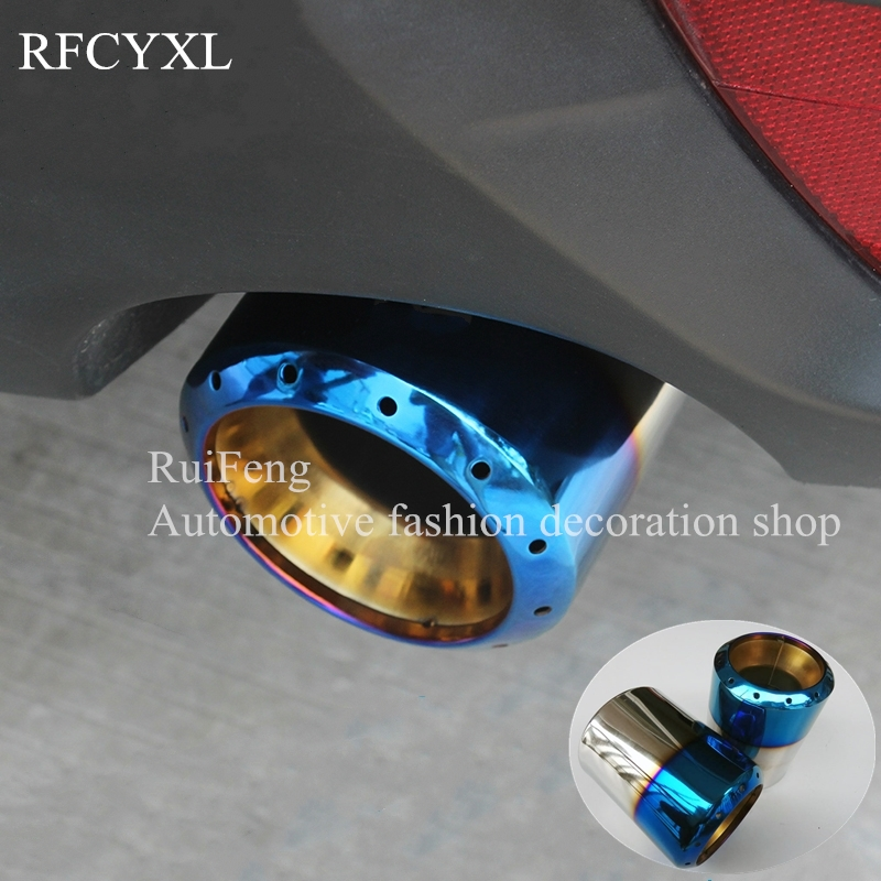 Stainless steel Auto Exhaust Muffler Tip For Mazda 6 GH 2008 2012 Modified Car Rear Tail