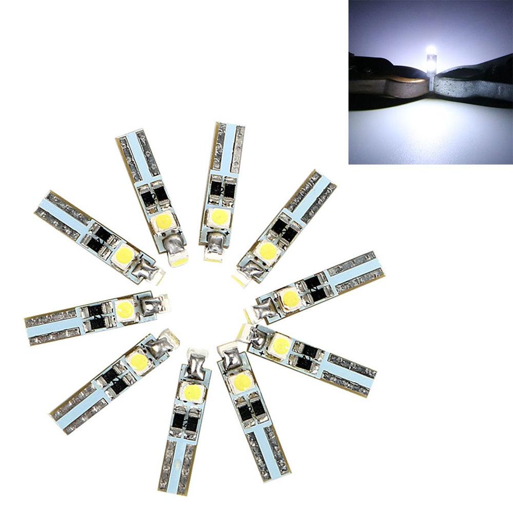 Itimo 10 unids/set piezas de repuesto de automóviles car-styling t5 3smd luz de