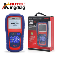 Autel AutoLink AL419 OBD II & CAN Code Reader AL 419 Free Online Update with Troubleshooter code tips Car Diagnostic Scan Tool