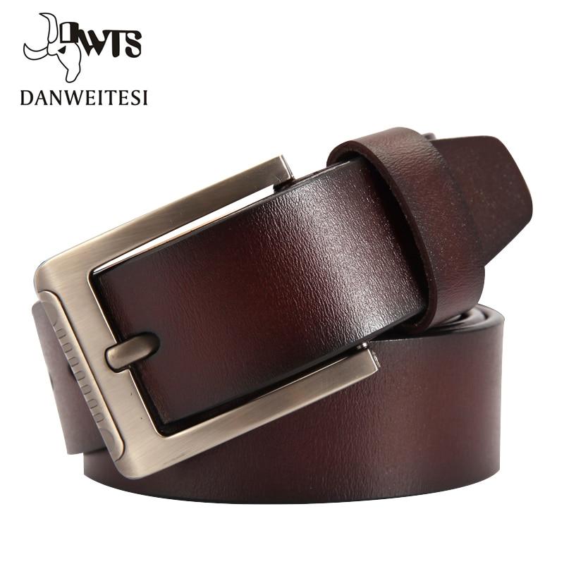 man belt Fashion Belts Men Cow Genuine Leather Strap Man Cowhide Belt