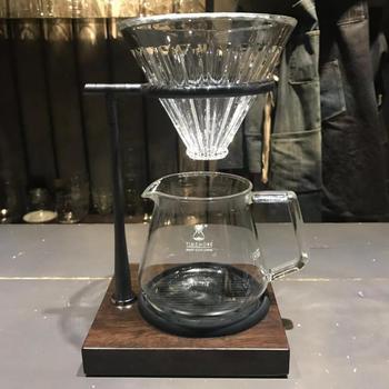 Porta Tazze Da Caffè | Timemore Ebano Mano Supporto Di Tazza Di Caffè Filtro Gocciolamento Tazza Di Caffè Filtro Stander In Acciaio Inox Cremagliera V60 Universale Barista Strumenti