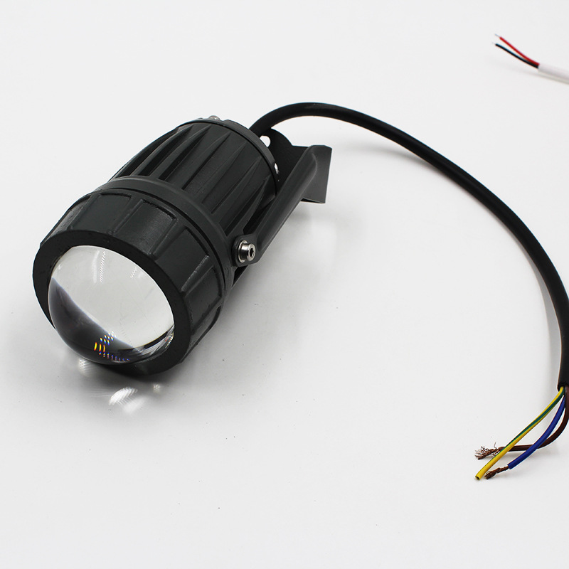 10W projective light outdoor strong light LED projective light high power light lamp
