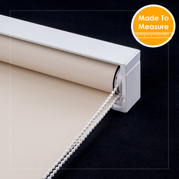 SCHRLING Waterproof Blackout fabric Easy Cleaning Roller blinds For Living Room Curtains On Windows Cutomized Size