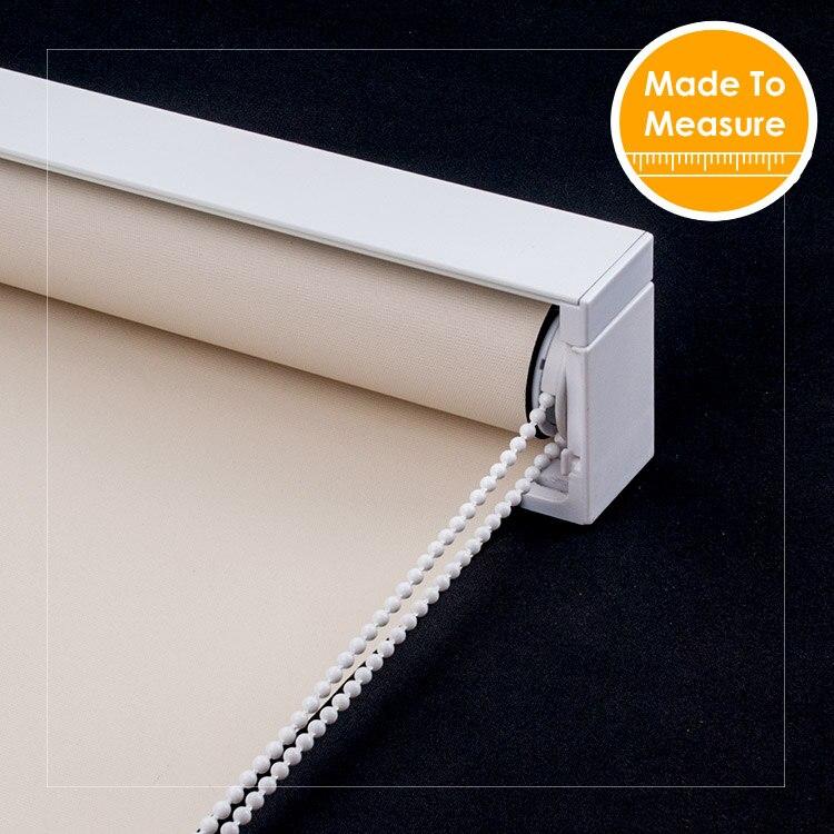 SCHRLING водостойкая Затемняющая ткань легкая чистка рулонные шторы для гостиной шторы на Windows Cutomized размер Передняя балдахин