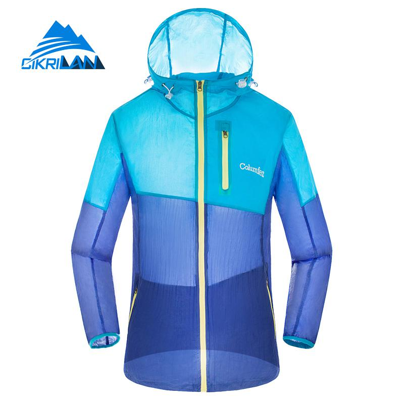 New Lightweight Sun Protection Anti-uv Outdoor Sport Hiking Jacket Men Quick Dry Hoodie Beach Sunscreen Fishing Climbing Coat