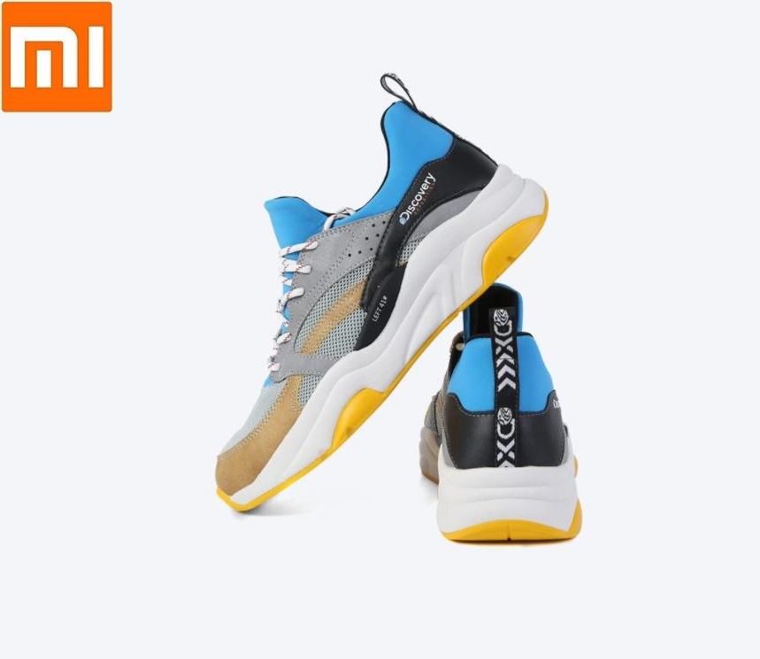 Xiaomi mijia man Thick-soled running Outdoor sports shoes Comfortable wearable EVA cushioning Breathable men Sneaker