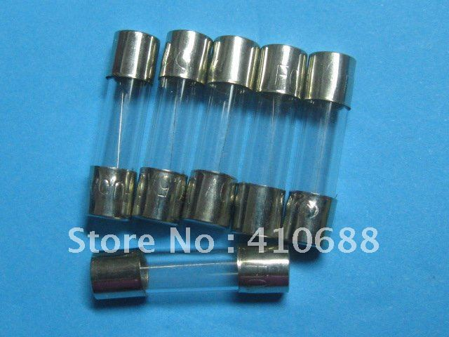 100 Pcs Per Lot Slow Blow Glass Fuse 6.3A T6.3A 250V 5mm x 20mm Hot Sale HIGH Quality