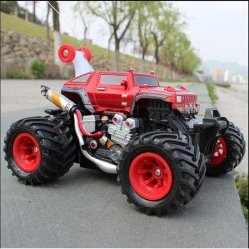 RC Cars Hummer Cars Carro Controle Remoto Control Car Dumpers Eectric Wireless Stunt Toy For Children