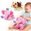 Lindo bebé elefante de Peluche Juguetes para niños juguetes blandos Perro niños kawaii juguetes de Peluche de felpa de Juguete Animal Bebé recién nacido regalo TO95