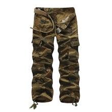2016 herren Military Stil Armee Camouflage Hose Mode Militär Tarnt Taktischer Hosen Military Kleidung Cargo-hosen Plus 40