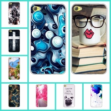Luxury TPU Soft Silicone Case Cover For Lenovo S60 S 60 S60W S60T Phone Cases Thin Original Cartoon Phone Bags Back Cover SKin