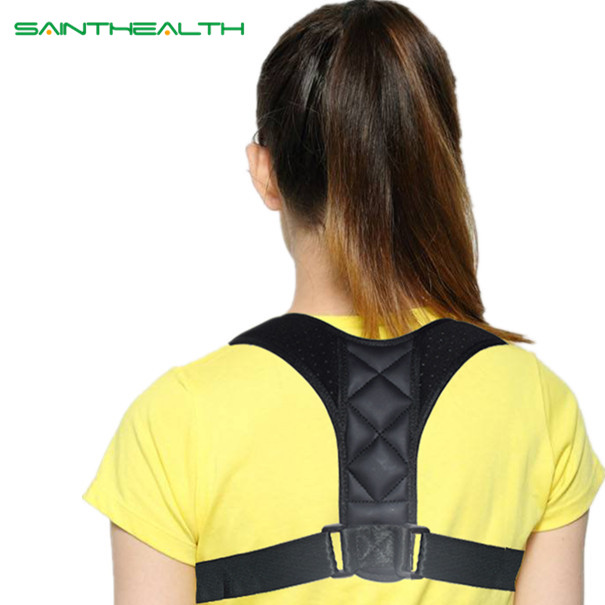 Medical Adjustable Clavicle Posture Corrector Men Woemen Upper Back Brace Shoulder Lumbar Support Belt Corset Posture Correction 2