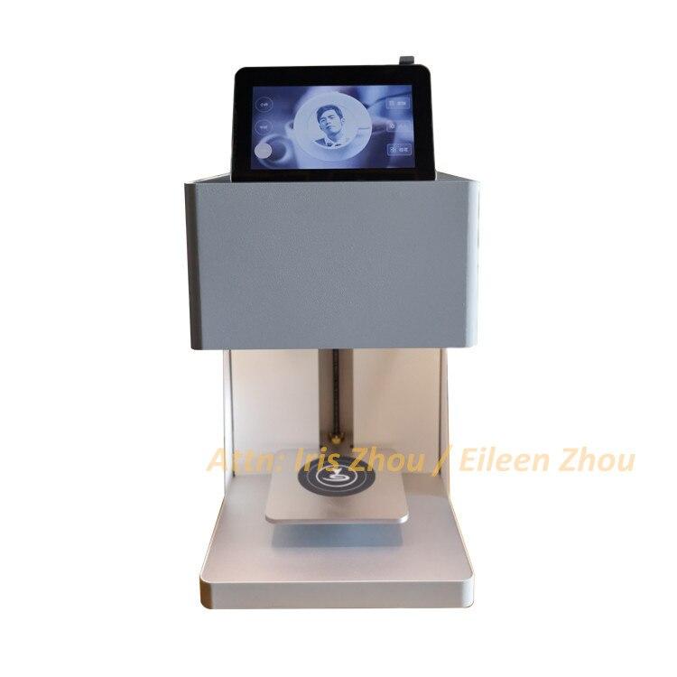 Bricolage art conception boisson biscuit crème gâteau biscuits imprimante alimentaire machine à café café latte art imprimante