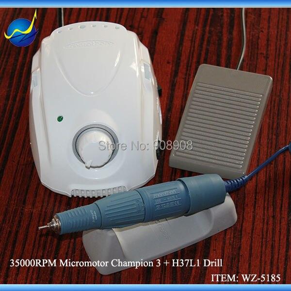 Origineel Korea SAEYANG-kampioen Marathon H37L1 Handstuk Micromotor voor polijsten van tanden Tandheelkundig slijpen Hout Walnoot Jade Carving
