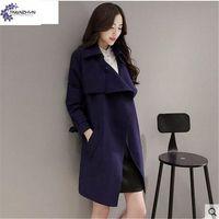 Tnlnzhyn Тренч 2017 Демисезонный новые элегантные женские пальто мода большой ярдов ветровка Чистый цвет женские пальто TT077