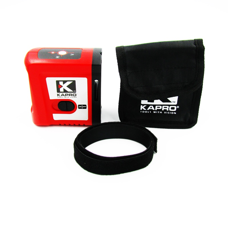 KAPRO Magnetic Self-leveling Mini Infrared Laser Level Cross beam 2-line Level Measurement Instrument With Magnet kapro clamp type high precision infrared light level laser level line marking the investment line