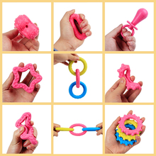 Pet Dog  Chew Squeaky Rubber Toys