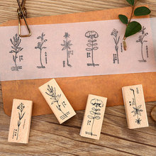 Vintage Medicinal plants wood stamp DIY craft wooden rubber stamps for scrapbooking stationery scrapbooking standard stamp david e allen gabrielle hatfield medicinal plants in folk tradition