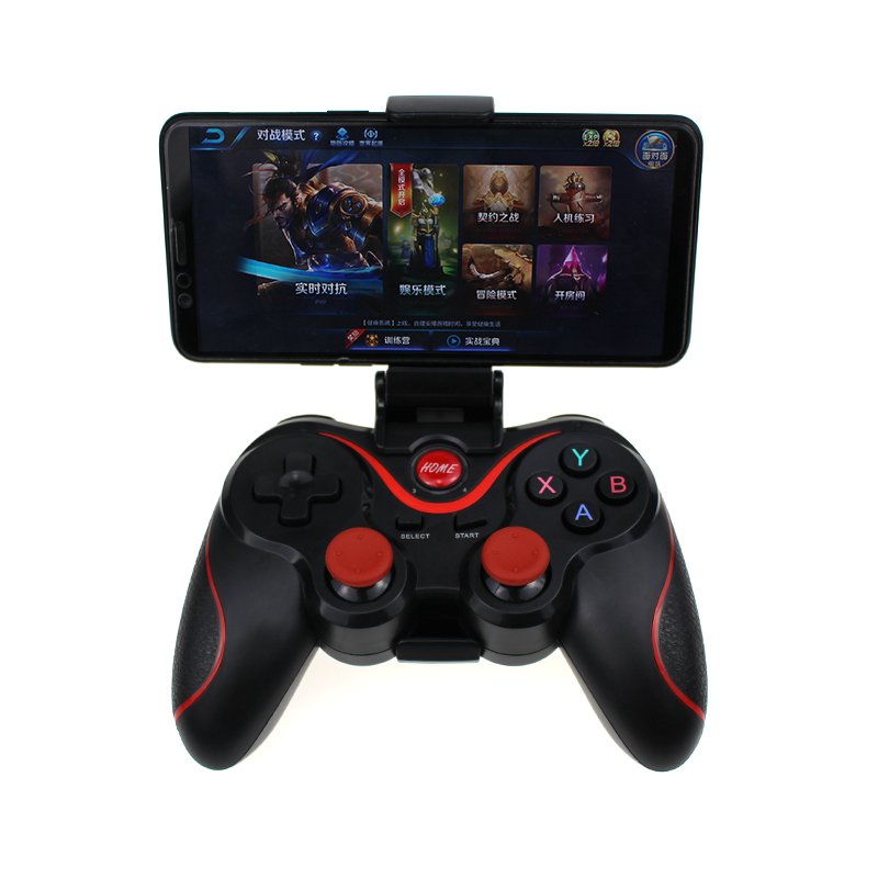 T3/X3 Game Controller For PS3 Joystick Wireless Bluetooth 3.0 Android Gamepad Gaming Remote Control For PC Phone Tablet image