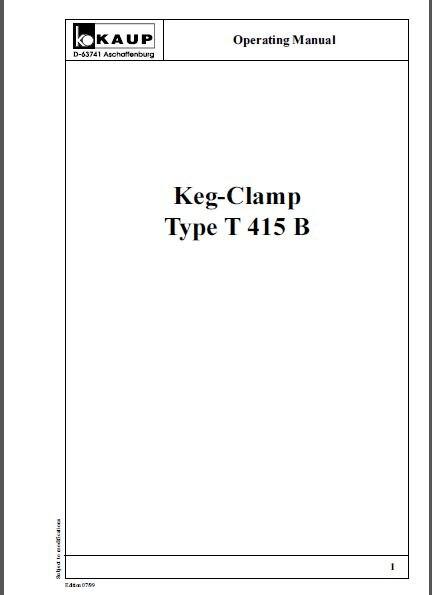 PDF pièces détachées et accessoires Kaup